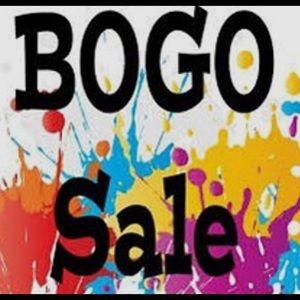 BOGO on Entire Closet 9/9/2020